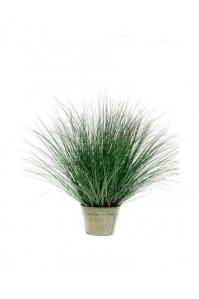 Трава Осока Де Люкс искусственная в кашпо 95 см