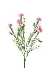 Гвоздика полевая искусственная розовая 64 см