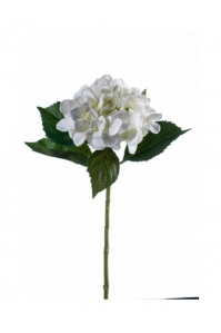 Гортензия искусственная белая 53 см
