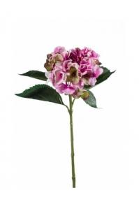 Гортензия искусственная розово-зеленая 53 см