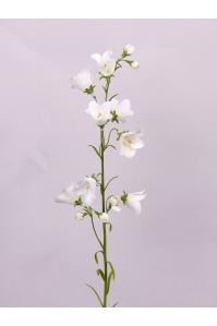 Колокольчик искусственный белый 66 см