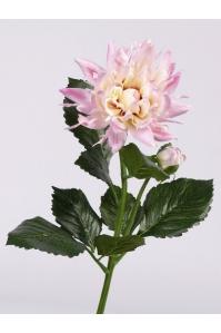 Георгин искусственный розовый 75 см