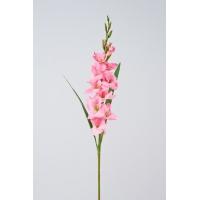 Гладиолус искусственный розовый 102 см