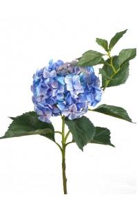 """Гортензия """"Jumbo"""" искусственная голубая 105 см"""