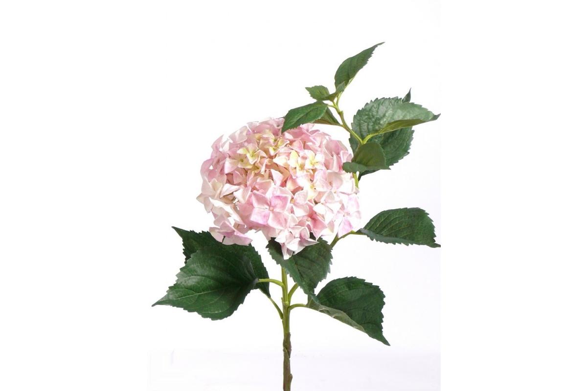 """Гортензия """"Jumbo"""" искусственная розовая 105 см"""