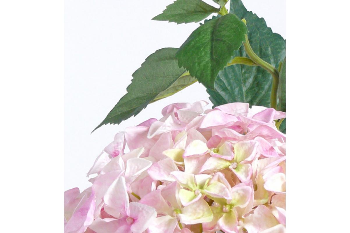 """Гортензия """"Jumbo"""" искусственная розовая 105 см - Фото 2"""