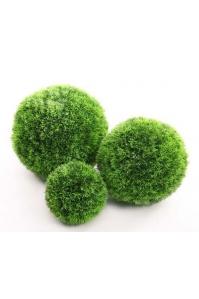 Шар декоративный из искусственной травы