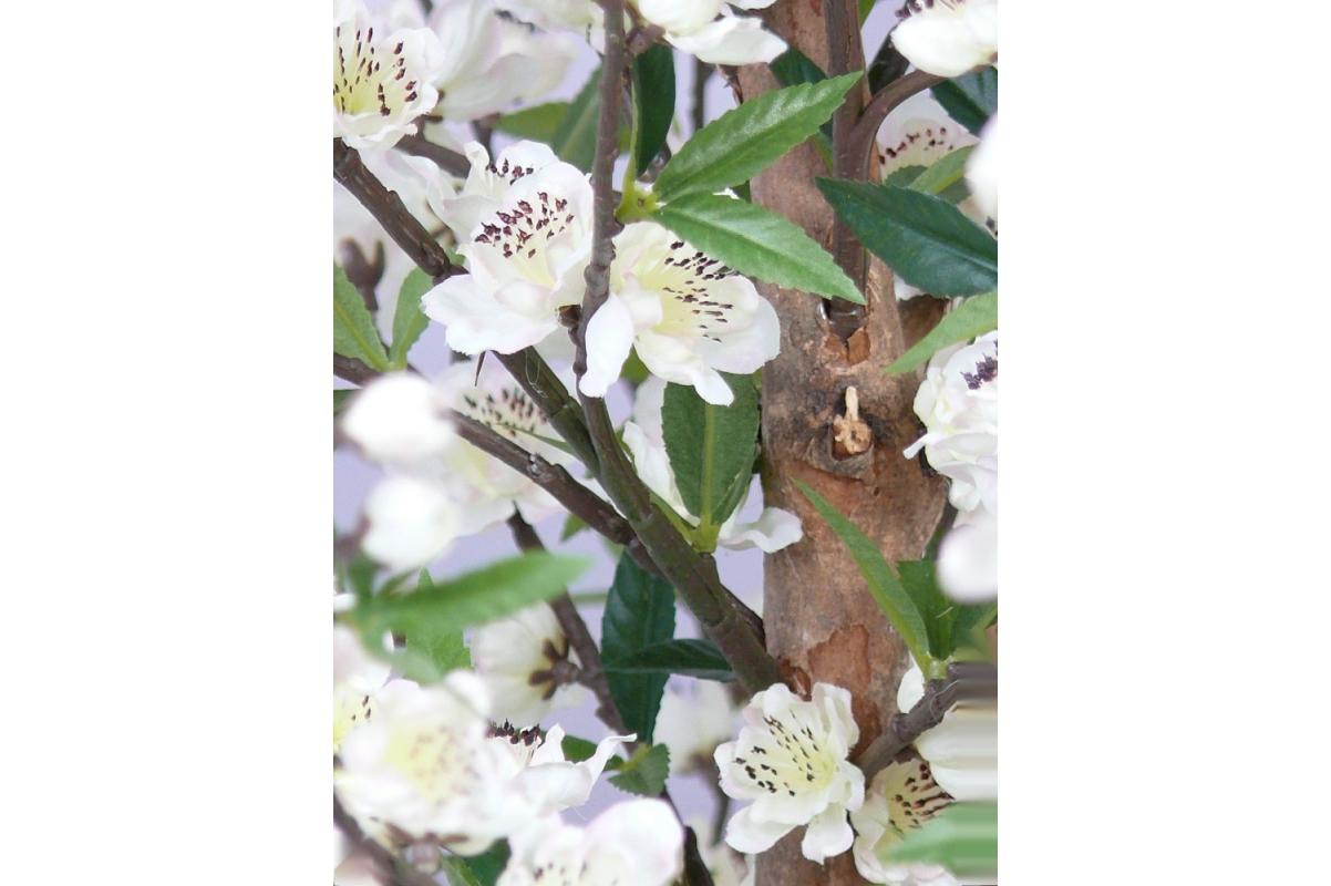 Сакура искусственная цветущая кремовая 210 см - Фото 2