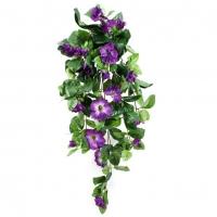 Петуния Ампельная Де Люкс искусственная фиолетовая 80 см
