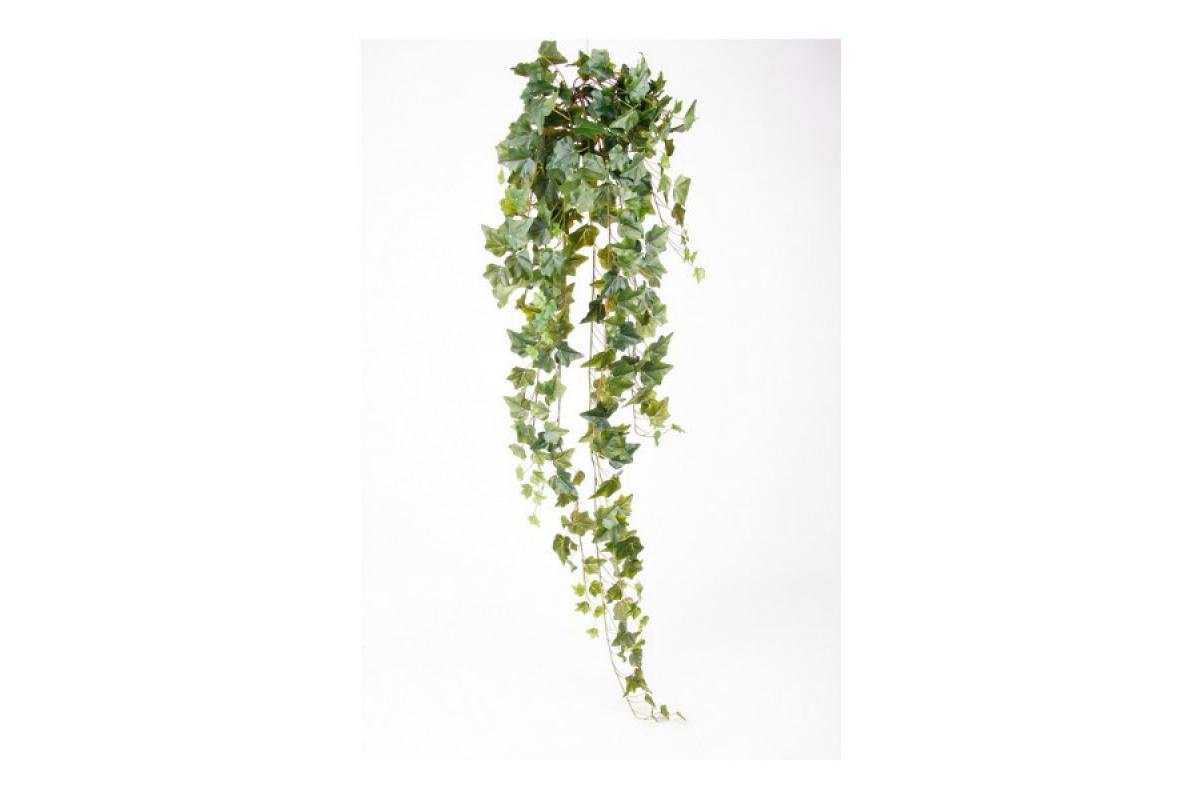 Плющ (хедера) искусственный зеленый 120 см