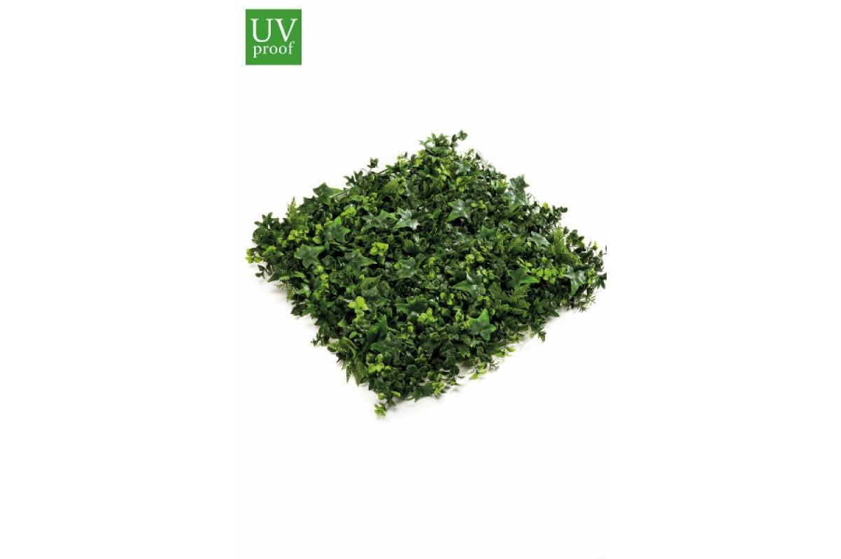 Газон-коврик травяной микс искусственный зеленый 50 x 50 см