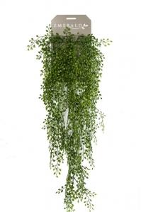Жасмин искусственный ампельный зеленый 80 см