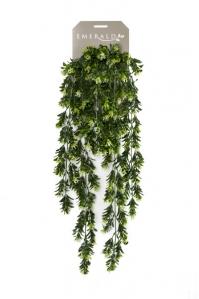 Самшит куст искусственный ампельный с ягодами 75 см (Real Touch)