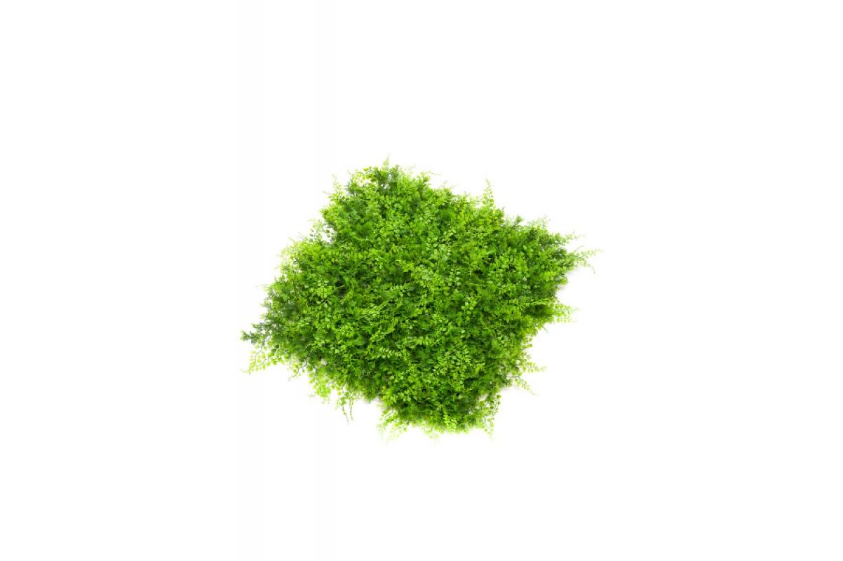 Газон-коврик из Травы искусственный зеленый 50 x 50 см