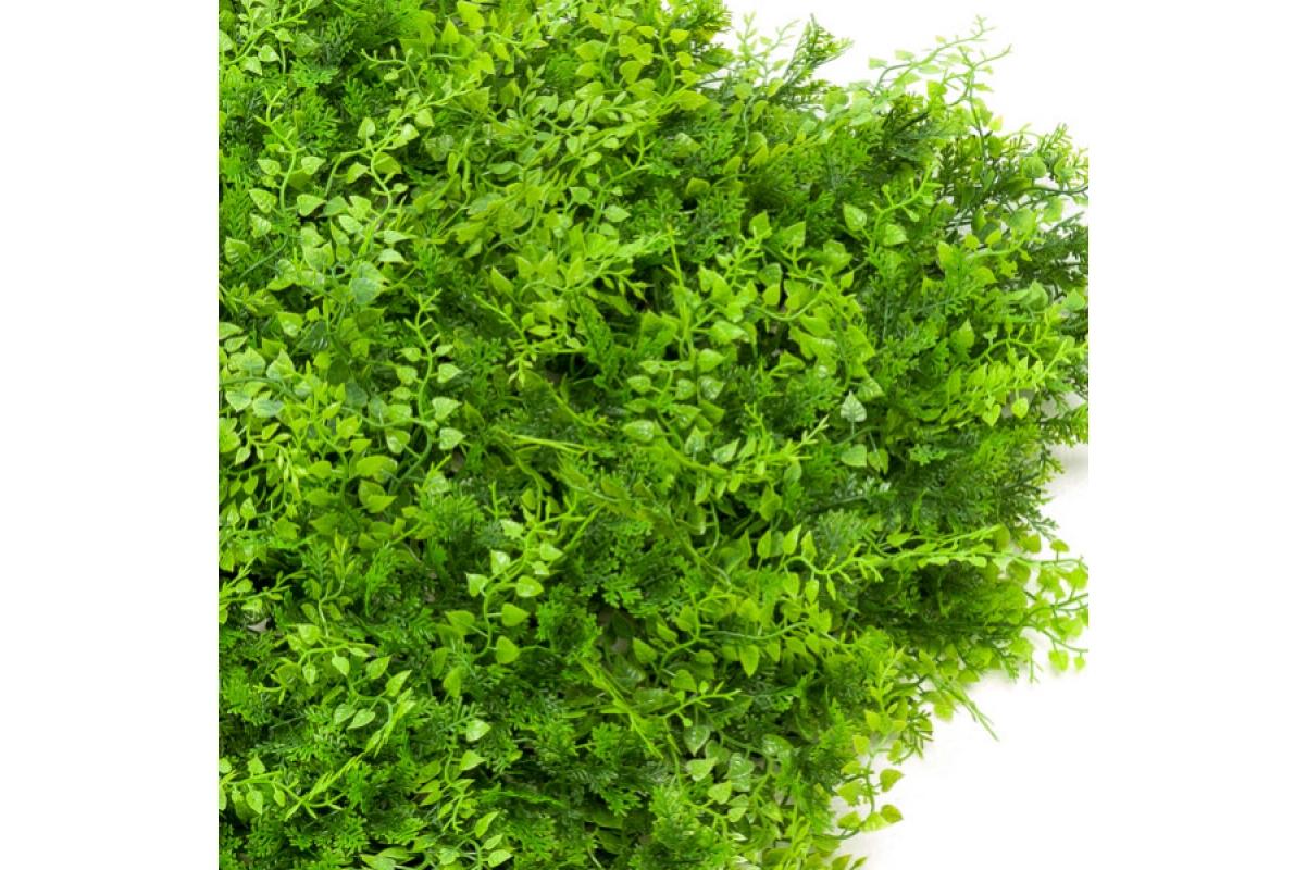 Газон-коврик из Травы искусственный зеленый 50 x 50 см - Фото 2