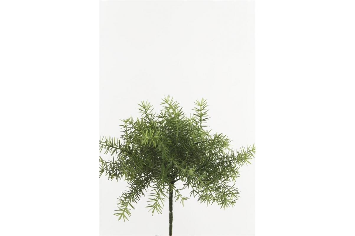 Аспарагус искусственный куст 25 см