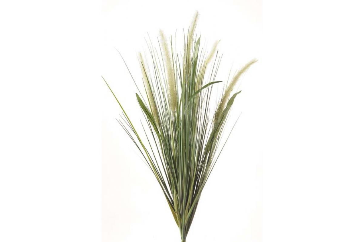 Куст травы искусственный с колосками 70 см