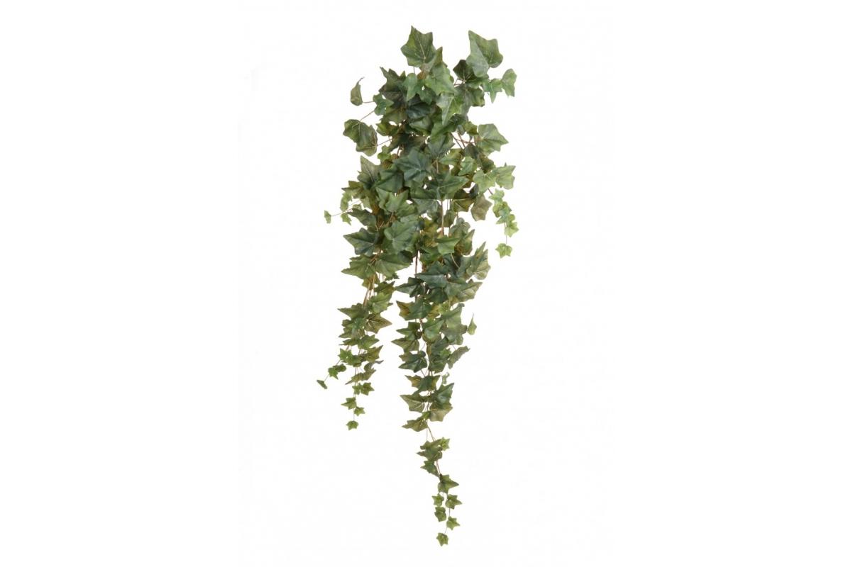 Плющ (хедера) Вьюн искусственный зеленый 100 см - Фото 2