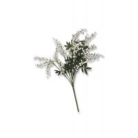 Смородина искусственная куст белый 73 см
