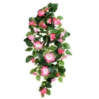 Петуния Ампельная Де Люкс искусственная розовая 80 см