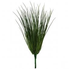 Куст травы искусственный зеленый 35 см (без кашпо)