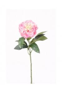 Пион мини искусственный розовый 42 см