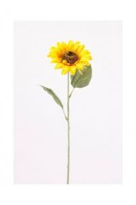 Подсолнух искусственный желтый 62 см