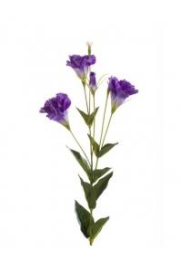 Эустома искусственная фиолетовая 85 см