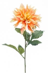 Георгин искусственный персиковый 60 см