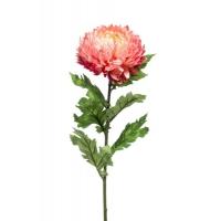 Хризантема МОМ спрей искусственная розовая 75 см