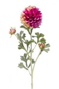 Георгин искусственный фиолетовый 68 см