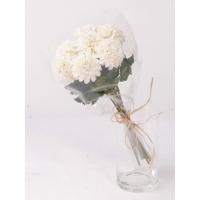 Букет Хризантем искусственный белый 45 см