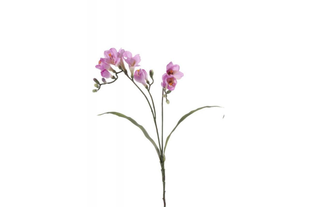 Фрезия искусственная лиловая 63 см