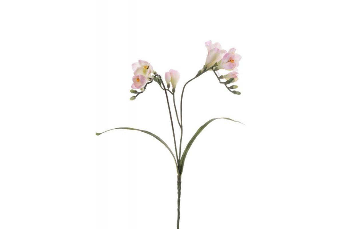 Фрезия искусственная розовая 63 см