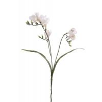 Фрезия искусственная белая 63 см