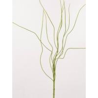 Ветка декоративная искусственная зеленая 90 см