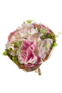Букет Пионов искусственный розовый 20 см