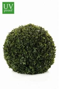Хедера (плющ) шар декоративный искусственный зеленый 40 см
