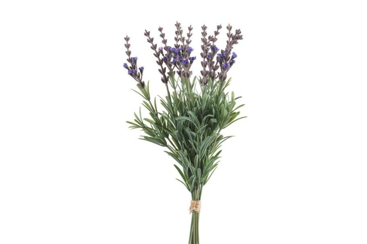 Букет Лаванды искусственный припыленый фиолетовый 33 см