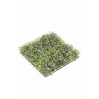 Коврик из листочков самшита искусственный 25x25 см