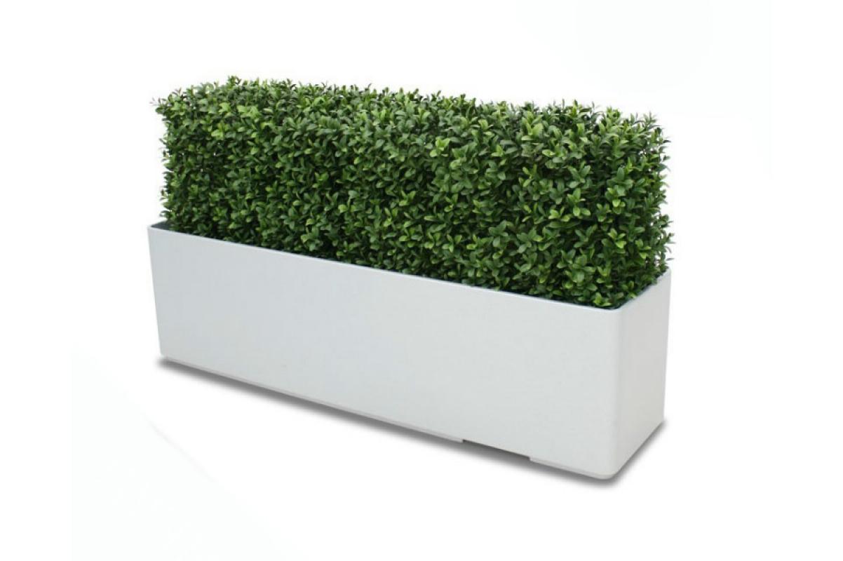 Изгородь из самшита искусственная (без кашпо) 100 x 20 x 35 см