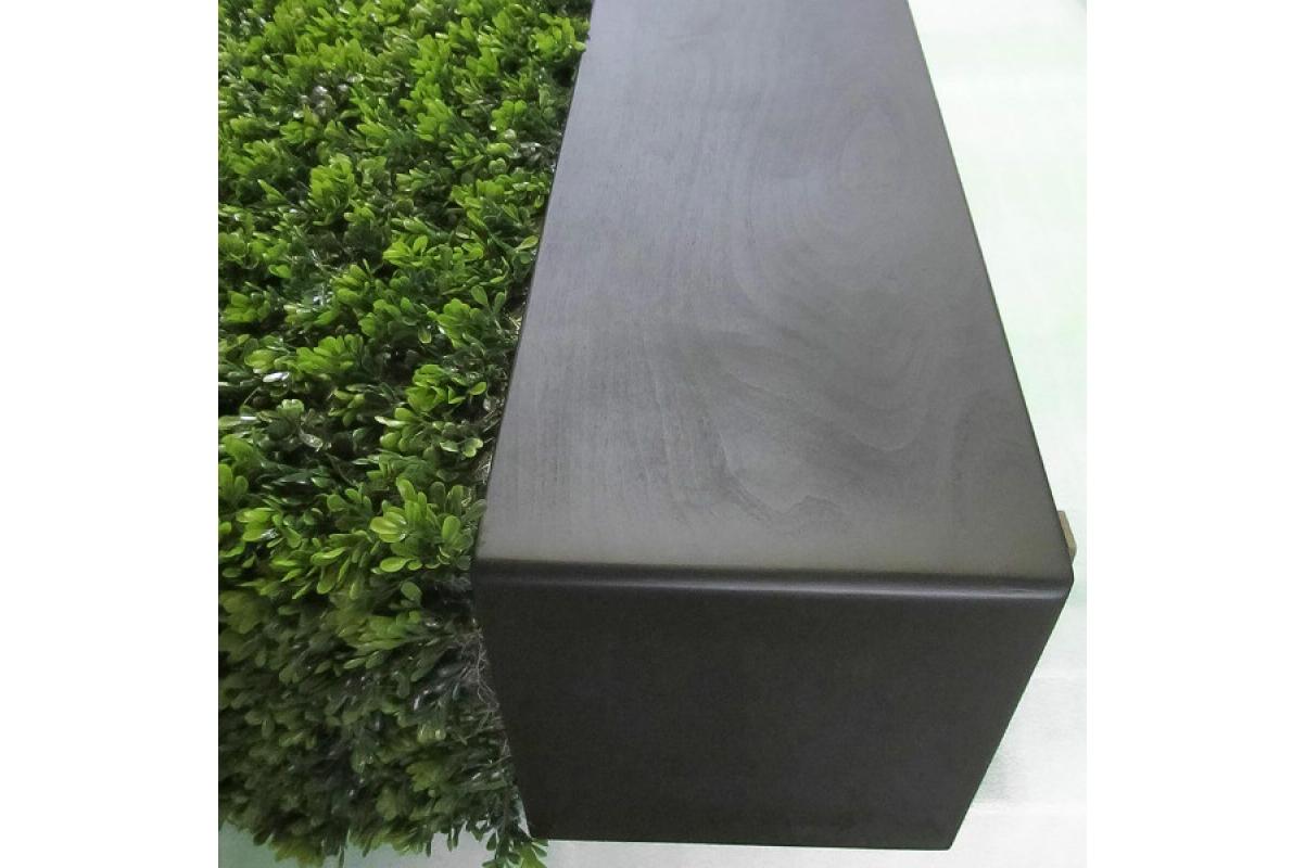 Изгородь из самшита искусственная в кашпо 115 х 30 х 70 см - Фото 10