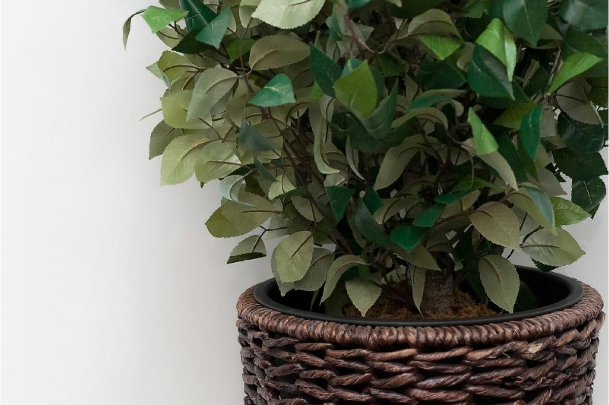 Изгородь лиственная искусственная (без кашпо) 65 х 100 см - Фото 2