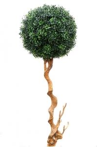 Самшит Шар на стволе искусственный уличный 150 см