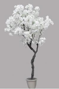 Груша цветущая искусственная белая 170 см