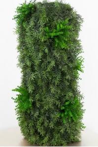 Колонна из растений искусственная уличная 45 х 100 см