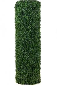 Колонна из самшита искусственная на каркасе 100 см