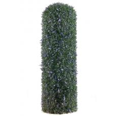 Колонна из лаванды искусственная на каркасе 100 см