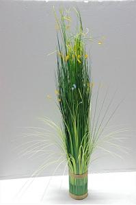 Декоративный сноп из искусственной травы 100 см
