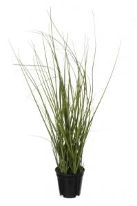 Трава искусственная в горшке зеленая 37 см